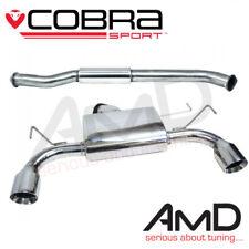"NZ02 Cobra échappement Sport Compatible Nissan 350z Resonated Cat Back Exhaust 3"""