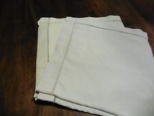 DEUX taies d oreillers pur coton jours echelle 70 x 70 cm n°12