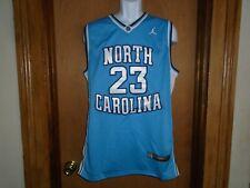 Michael Jordan North Carolina Tar Heels Unc Nike Team Sports Jersey Size L Nwt