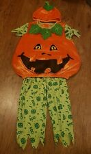 NEW Baby Boys Girls Soft Pumpkin Fancy Dress Halloween New Year Party Outfit