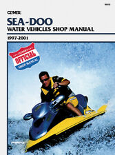 Clymer Repair Manual for Sea-Doo Personal Watercraft, 1997-2001