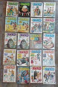 Cracked Magazines Lot of 20 Regular Editions