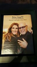 Celine Dion Rene Angelil Sony Music Memorial Promo Ad Framed!
