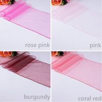 Organza table runners sashes birthday anniversary engagement wedding decorations