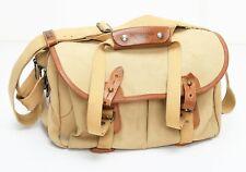 Vintage Billingham Pro SLR Camera Shoulder Bag Tan Leather & Canvas NICE!!!