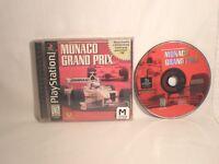 Monaco Grand Prix (Sony PlayStation 1, 1999)  *NO MANUAL*