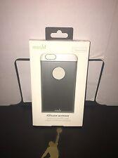 Moshi iGlaze Armour Metallic Case for iPhone 6 /6s Silver/ White Retail $50