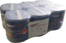 6 x Semy Putztuch 20 21 2 Putztücher Papier-Rolle blau Putzpapier