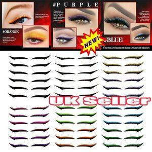 6pairs Reusable Eyeliner Stickers Eyelid Line Stick Eye Makeup Sticker Eyeliner
