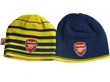 New Arsenal AFC Puma reversible blue yellow performance beanie hat 2014-15 OSFA