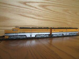 N Con-Cor PA/Rivarossi 6 Car Rio Grande Passenger Train, DCC, Cars w/ Interiors