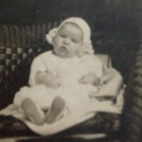 """""""EARLY 1900'S RPPC REAL PHOTO POSTCARD BABY CHRISTENING Thompson Photography KS"""