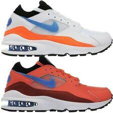 Nike Air Max 93 weiß orange Herren low-top Sneakers Turnschuhe Freizeit NEU