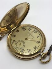 Excellent Locarno Watch Co Gold-Plated Pocket Watch Swiss