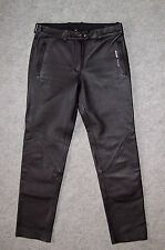 PANTALON Moto CUIR Femme ALL ONE, Taille 42 --- (PMF_023)
