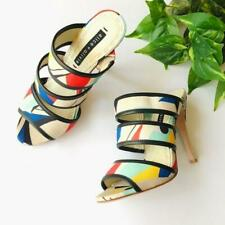Alice+Olivia Multicolor And Graciella Heel Sandals Womans Size US 7