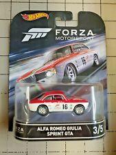 Hot Wheels Retro Entertainment Series Forza Motorsport Alfa Romeo Giulia Sprint