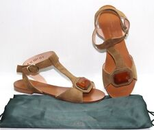 Authentic Robert Clergerie Suede Sandals Size 7B