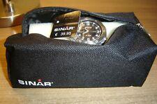 4x Sinar Armbanduhren 3x XD-40-1 & 1x XF-61-2 / neu OVP mit Etikett & Taschen