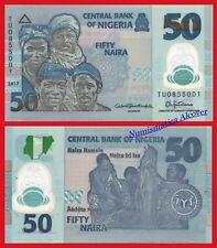 NIGERIA 50 Naira 2017  Pick New  SC / UNC