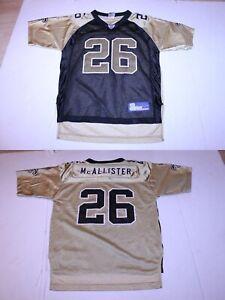 Youth New Orleans Saints Deuce McAllister L (14/16) Vintage Jersey Reebok