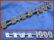 FIAT 1500 BN / CABRIOLET - SCRITTA IDENTIFICATIVA POSTERIORE LOGO BADGE SCRIPT