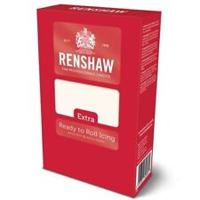 Renshaw Rolled Fondant White 1kg  EXTRA