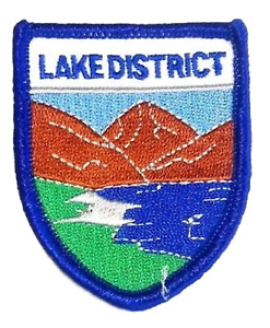 Lake District Embroidered Patch