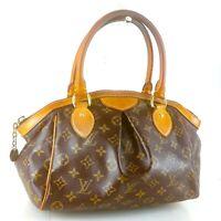 LOUIS VUITTON TIVOLI PM Hand Bag Purse Monogram M40143 Brown