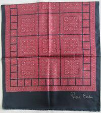 - Étole/écharpe PIERRE CARDIN soie  vintage Scarf  58 x 130 cm