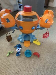 Fisher Price Octonauts Octopod Playset Original 2010 Figures And Accessories