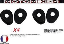 obturateurs de trou de clignotants CACHE ORIFICE Suzuki sv 650 n /s 1999-2002