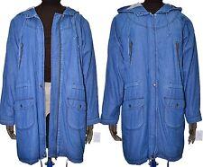 Topshop Zip Knee Length Cotton Coats & Jackets for Women