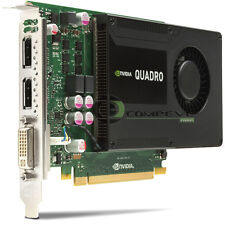 NVIDIA / IBM  Quadro K2000 2GB PCIe x16 DisplayPort DVI Graphics Adapter 03T8310