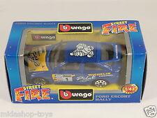 [PG3-4] BBURAGO BURAGO 1/43 STREET FIRE #4173 FORD ESCORT RALLY PILOT/MICHELIN