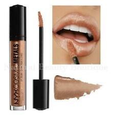 NYX Makeup COSMIC METALS LIP CREAM LIPSTICK Sparkly Glitter Gloss Nude ROSE GOLD