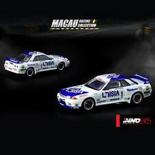 Inno Models 1 64 Nissan Skyline Gt-r UNISIA JECS Macau Guia Race 1990