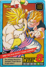 CARTE DRAGON BALL LE GRAND COMBAT N-¦ 598 BROLY POWER LEVEL 8