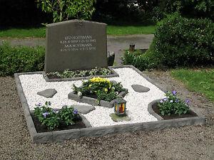 Grabeinfassung Doppelgrab Grabmal Einfassung Grabstein Urnengrab