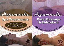 Ayurvedic Spa Facial & Ayurveda Massage Video 2 DVD Set by Real Bodywork