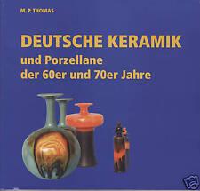 Fachbuch Deutsche Keramik und Porzellane der 60er und 70er Jahre, Rosenthal, Bay