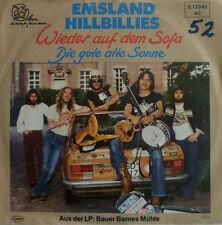 """7"""" 1979 VG++! EMSLAND HILLBILLIES : Wieder auf dem Sofa"""