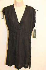 NWT Ralph Lauren Cover up Dress Size S Black adj. shoulder