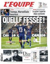 L'Equipe - OM-PSG 1-5 (27/02/2017)- QUELLE FESSÉE ! PARIS HUMILIE MARSEILLE