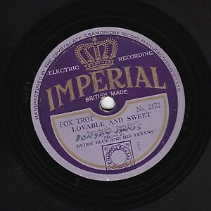 RARE DORSEY BROTHERS  78 LOVABLE AND SWEET / MY DREAM MEMORY UK IMPERIAL 2172 V+