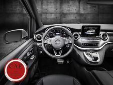 Mercedes-benz V-clase w447 nuevo! sport pedales AMG de acero inoxidable para automático