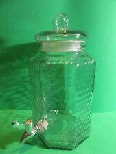 Beverage Dispenser Glass Jar Cold Drink Juice Tea