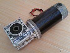 1pc GW80170 90W 12V 12rpm 300kg.cm Large-Torque Worm DC Gear Box Motor