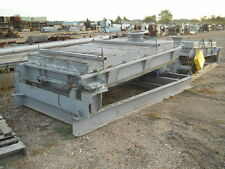 ROTEX 842 TWO DECK SHAKER SCREENER WITH WOODEN TOP