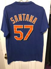 Johan Santana New York Mets Shirt Size Medium Majestic